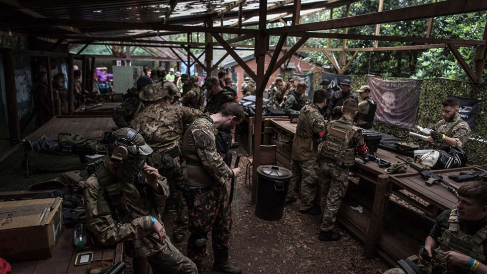 airsoft group at basecamp