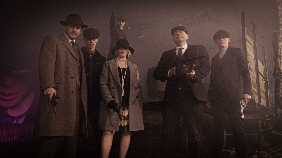 mixed group on peaky pistols experience