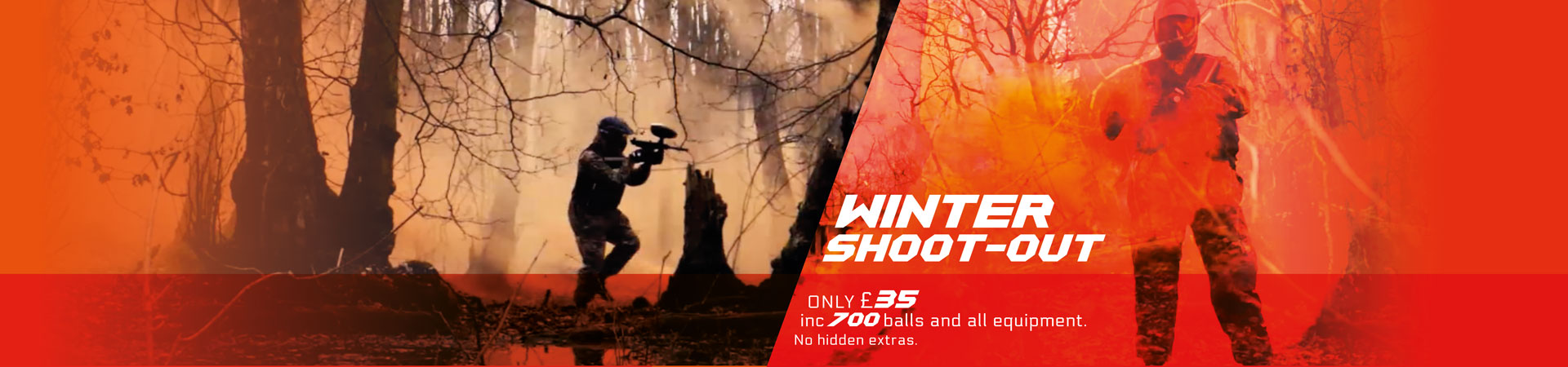 autumn shoot out special paintball deal