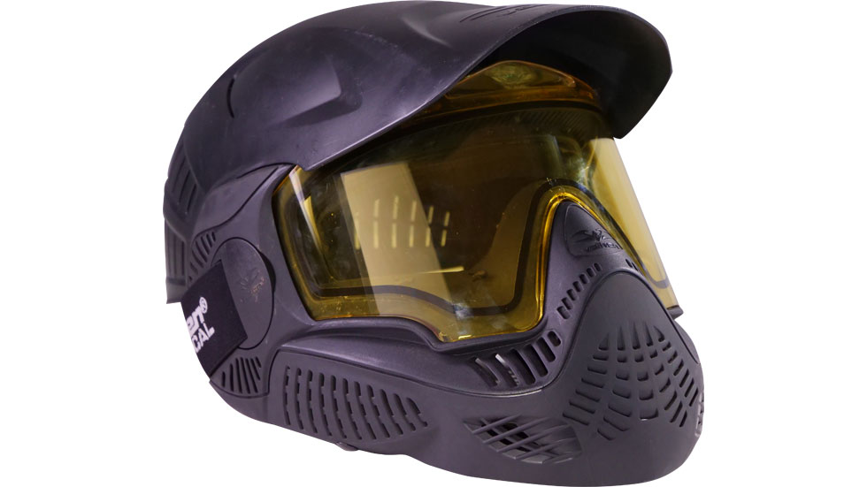 valken mi3 paintball mask with head protection