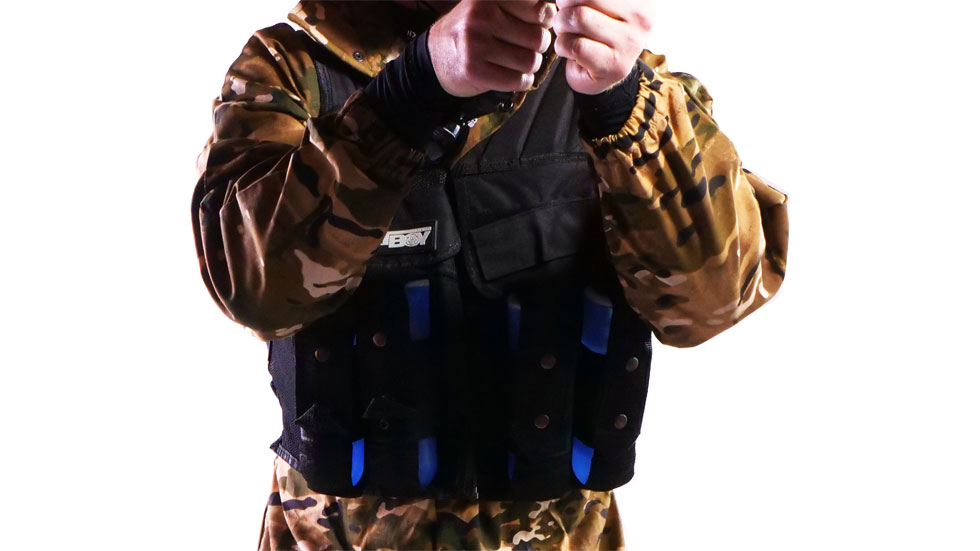 fatboy tactical paintball vest