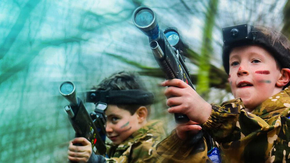 Kids and family friendly activities - Laser Combat, Paintball, Bushcraft and more!