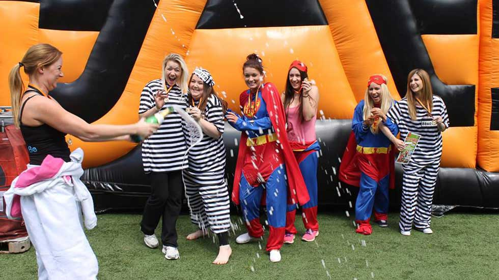 "Let NPF put the ""fizz"" into your hen do weekend with our exciting range of outdoor activities."