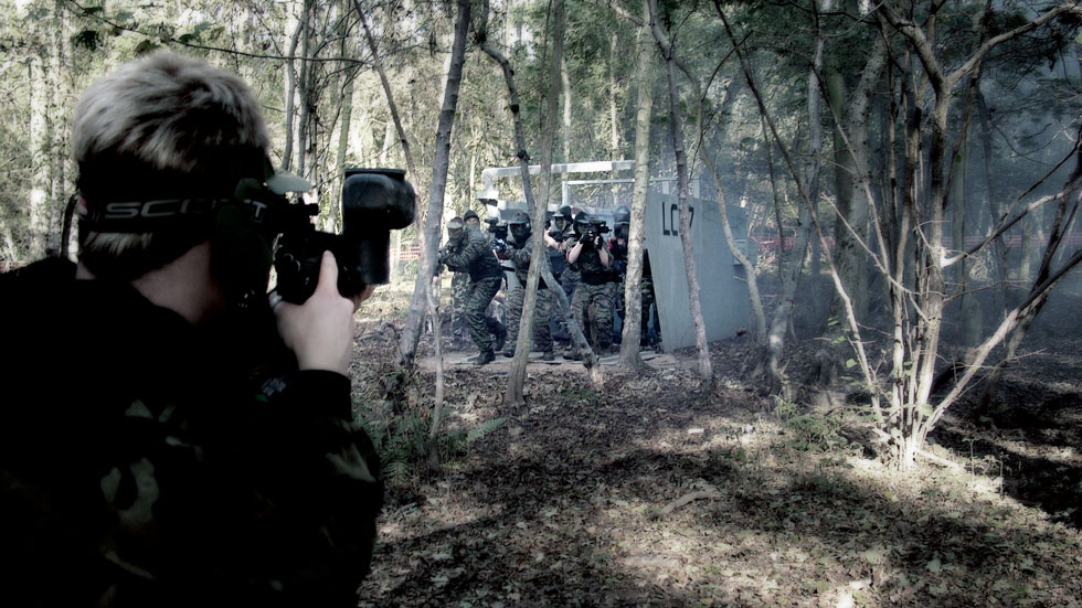bridge invasion paintball game zone