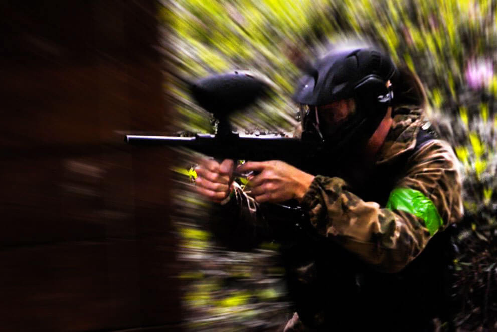corporate low impact paintball