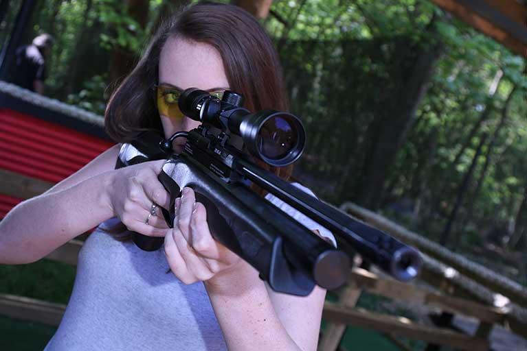 hen rifle shooting